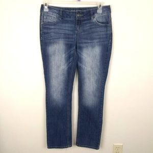 Maurices 'Straight' Jeans | sz 3/4 Short